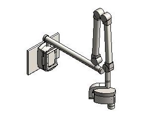 Midmark - 76 - Wall Mount Digital Dental Radiography System