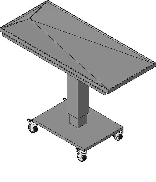Midmark - 50in Flat Top Surgery Table - Electric Column