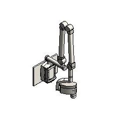 Midmark - 56 - Wall Mount Digital Dental Radiography System