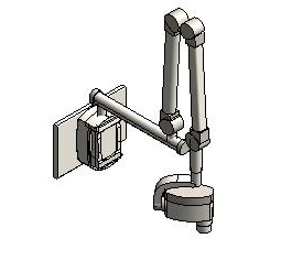 Midmark - 66 - Wall Mount Digital Dental Radiography System