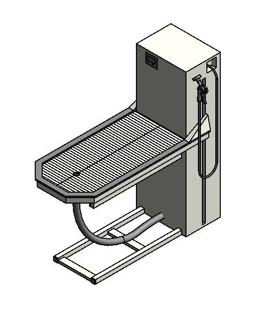 Midmark - CM 45in Wet Dental - Treatment Lift Table