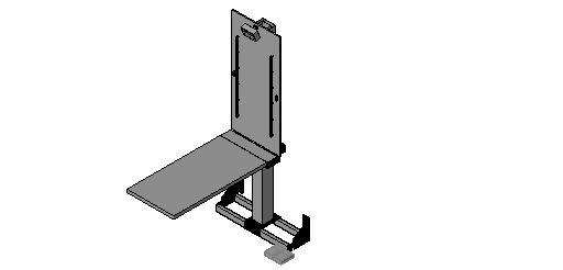 Midmark - Fold-Up Lift Table