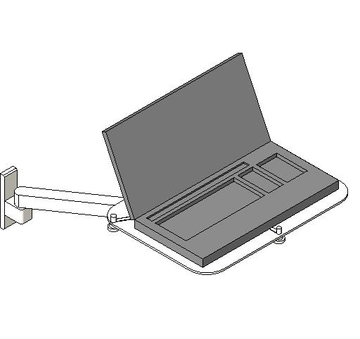 Midmark - Laptop and Tray for Wall Mount X-Ray