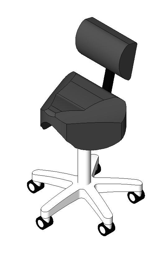 Midmark - Royal Saddle Plus Chair