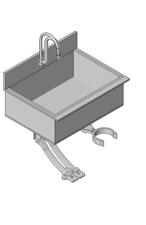 Midmark - Scrub Sink - Single