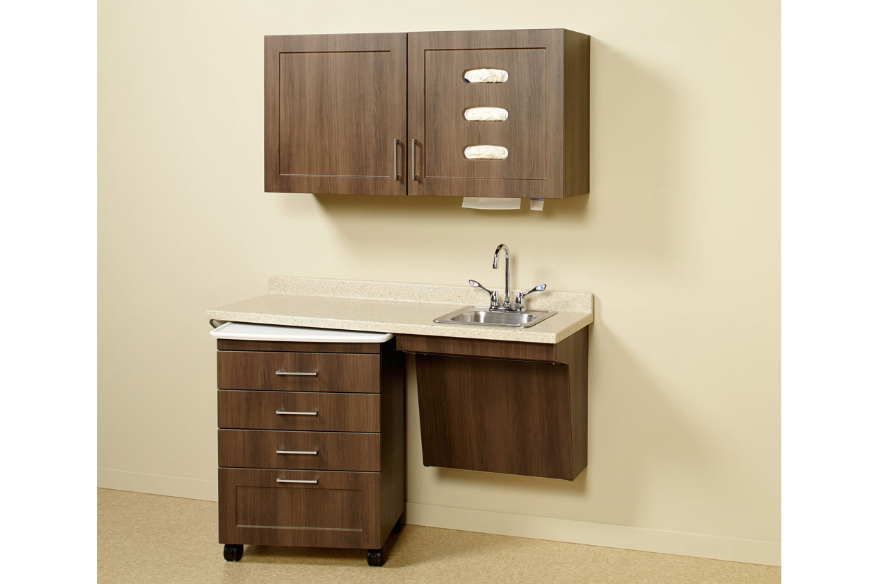 Synthesis 174 Specialty Glove Cup And Towel Dispenser