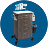 Midmark Mobile Treatment Cabinets