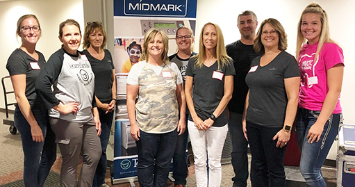 Midmark Team at TeamSmile event Sept 18