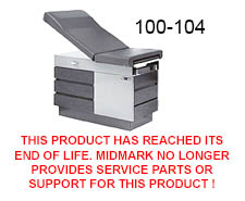 manual tables no longer supported rh midmark com Midmark 7.5L Exam Table Manual Midmark 411 Exam Table